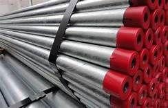 Tubo de aço galvanizado para incendio