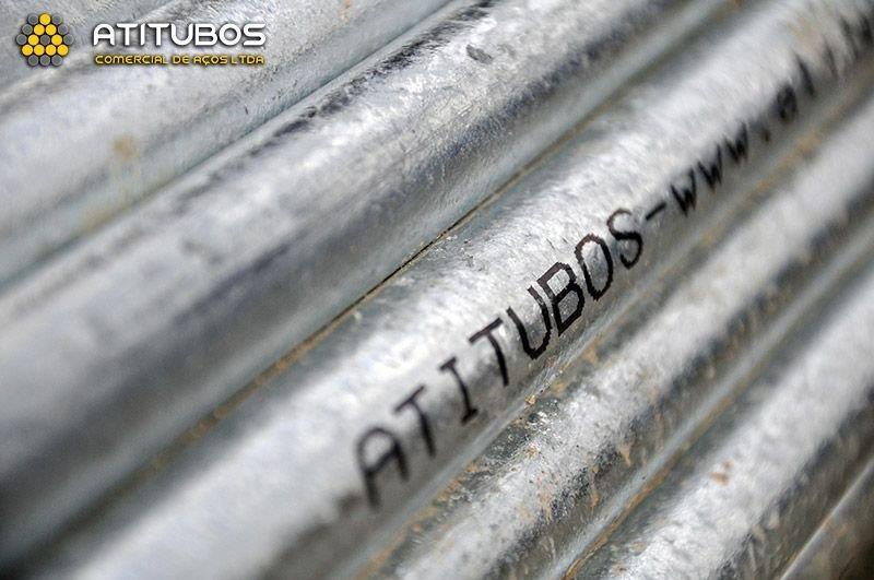 Tubo de aço galvanizado sp