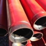 Tubos para sistema de combate a incendio