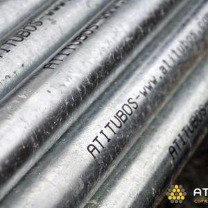 Tubo de aço galvanizado para agua